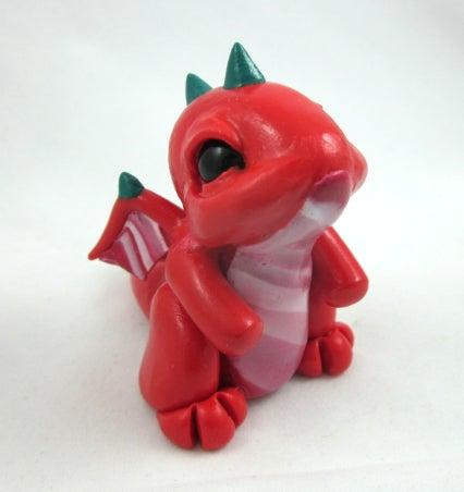 Image of Candy-Cane Dragon