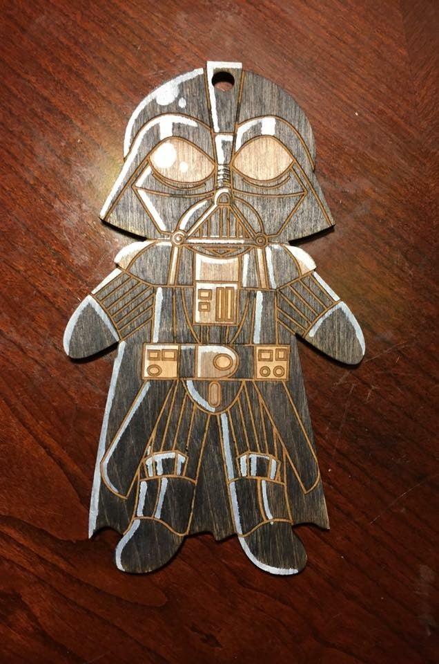 Image of Darth Vader Ornament