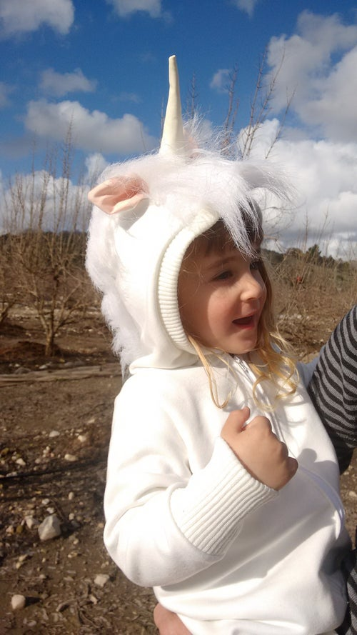 Image of Unicorn Cool Playsuit   אוברול חד קרן