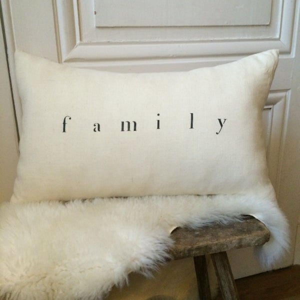 Image of coussin écru family