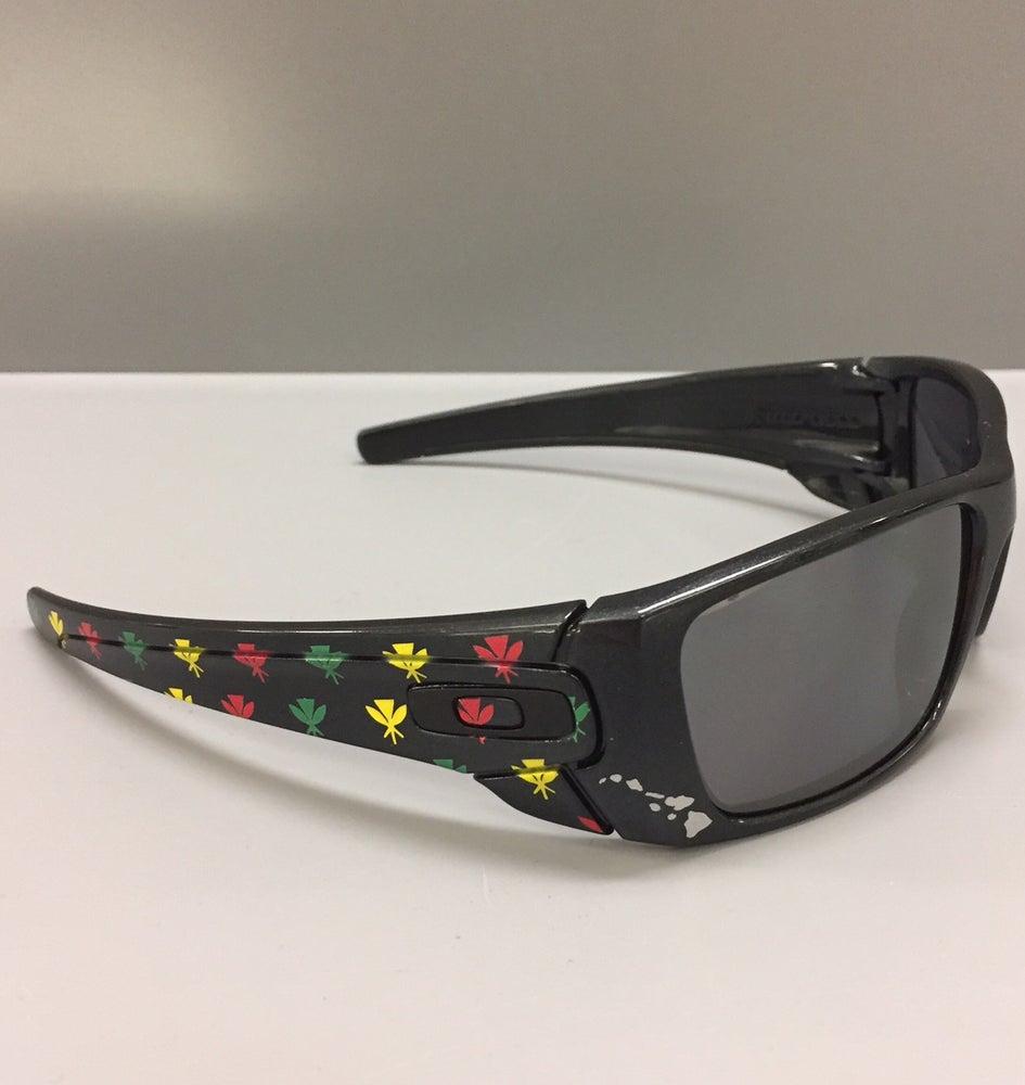 Image of Oakley Fuel Cell Artist Etd Kahili Monogram Non-Polarize Sunglasses