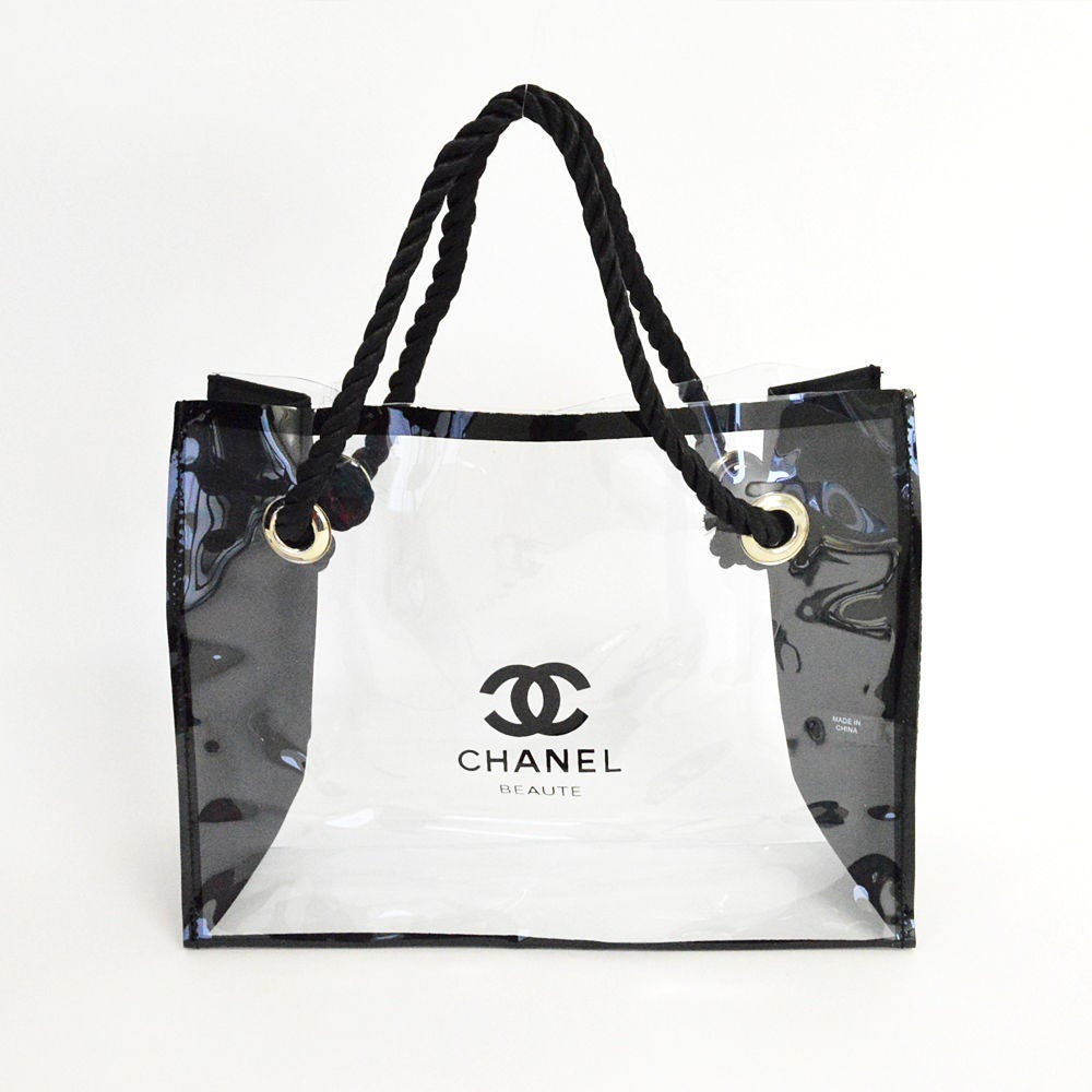 Image of Chanel Beaute MakeUp Toiletry Bags - Set x 2 Vip Gift With Purchase Bags