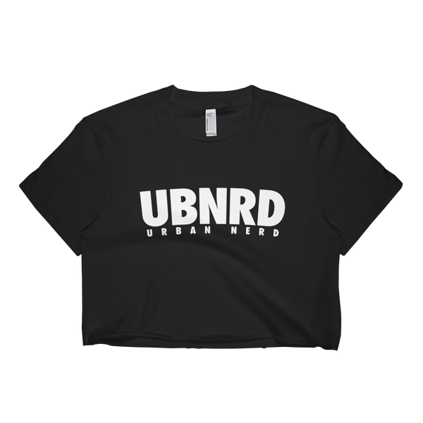 Image of HASHTAG Crop-Top by Urban Nerd ™ (BLACK)