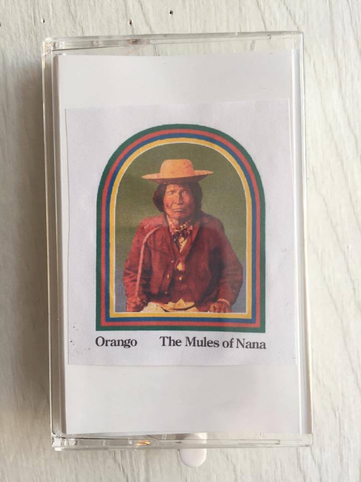 """Image of Orango """"The Mules of Nana"""" Cassette - Special Limited Edition"""