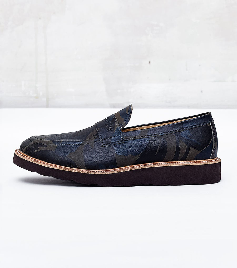 Image of Handmade Shoes | 201 Loafers Camouflage Edition