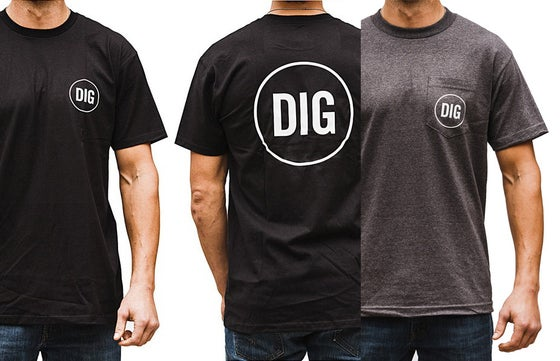 Image of DIG Logo - Small - Pocket or Front/Back