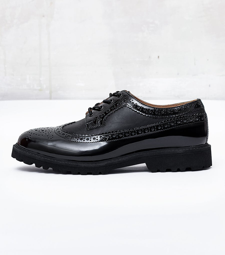 Image of Handmade Shoes | 702 Brogue Derby Black Edition