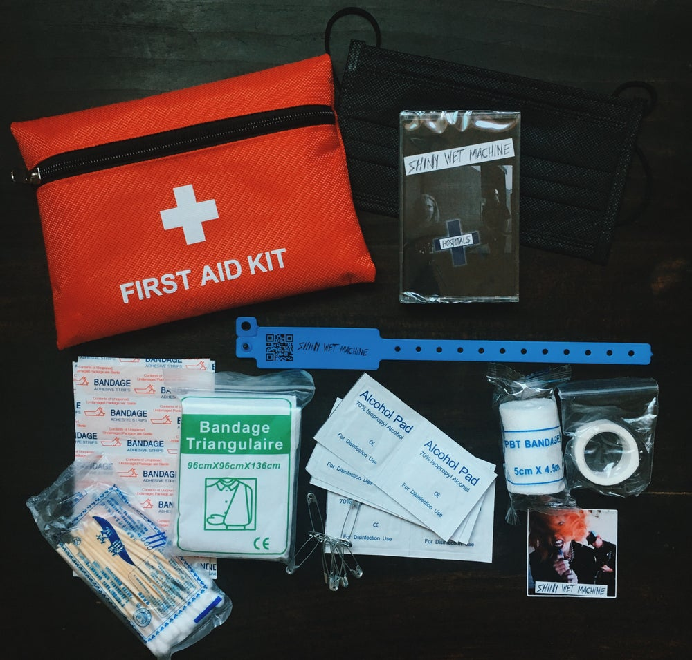 "Image of Shiny Wet Machine- Limited Edition ""Hospitals"" First-Aid Kit"