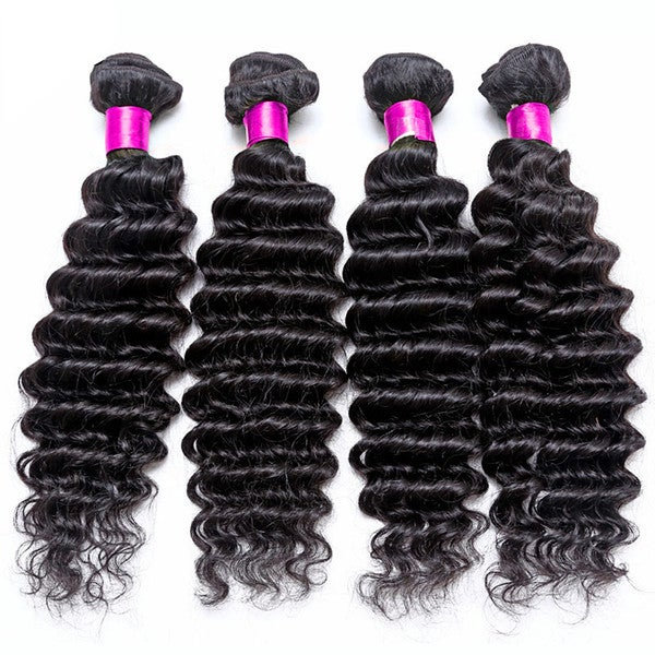 Image of 8A Brazilian Deep Wave 3 bundles starting at $140.95
