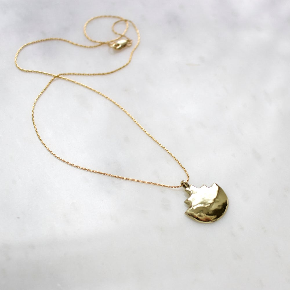 Image of Mayan Steps Pendant Necklace