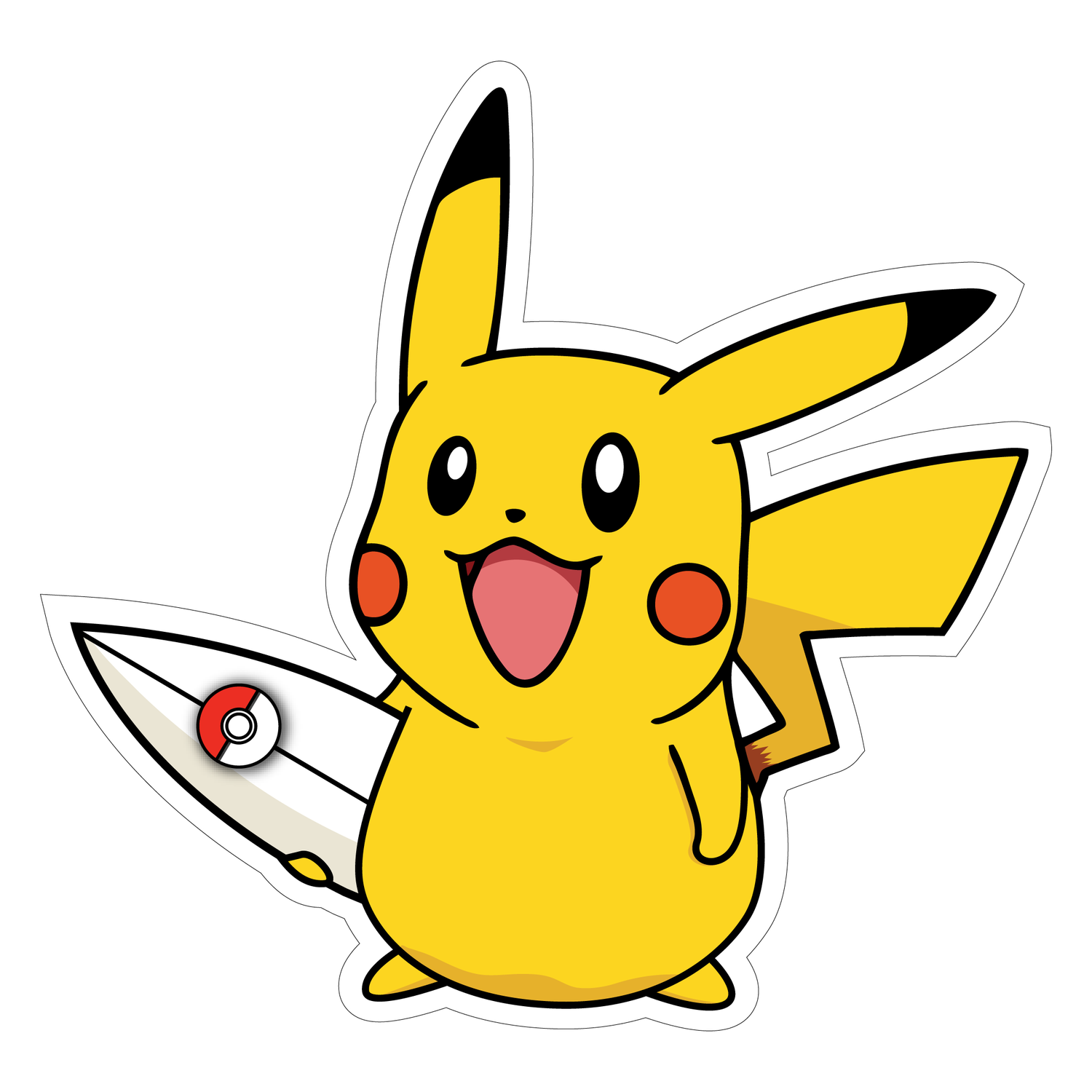 Image of Pikachu Surf