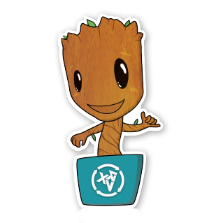 Image of Baby Groot Sticker