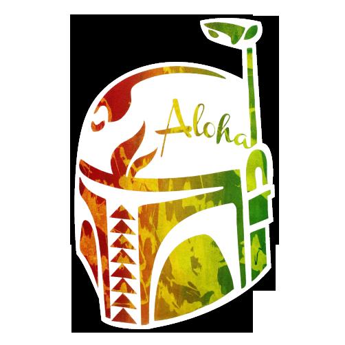 Image of Aloha Fett Sticker