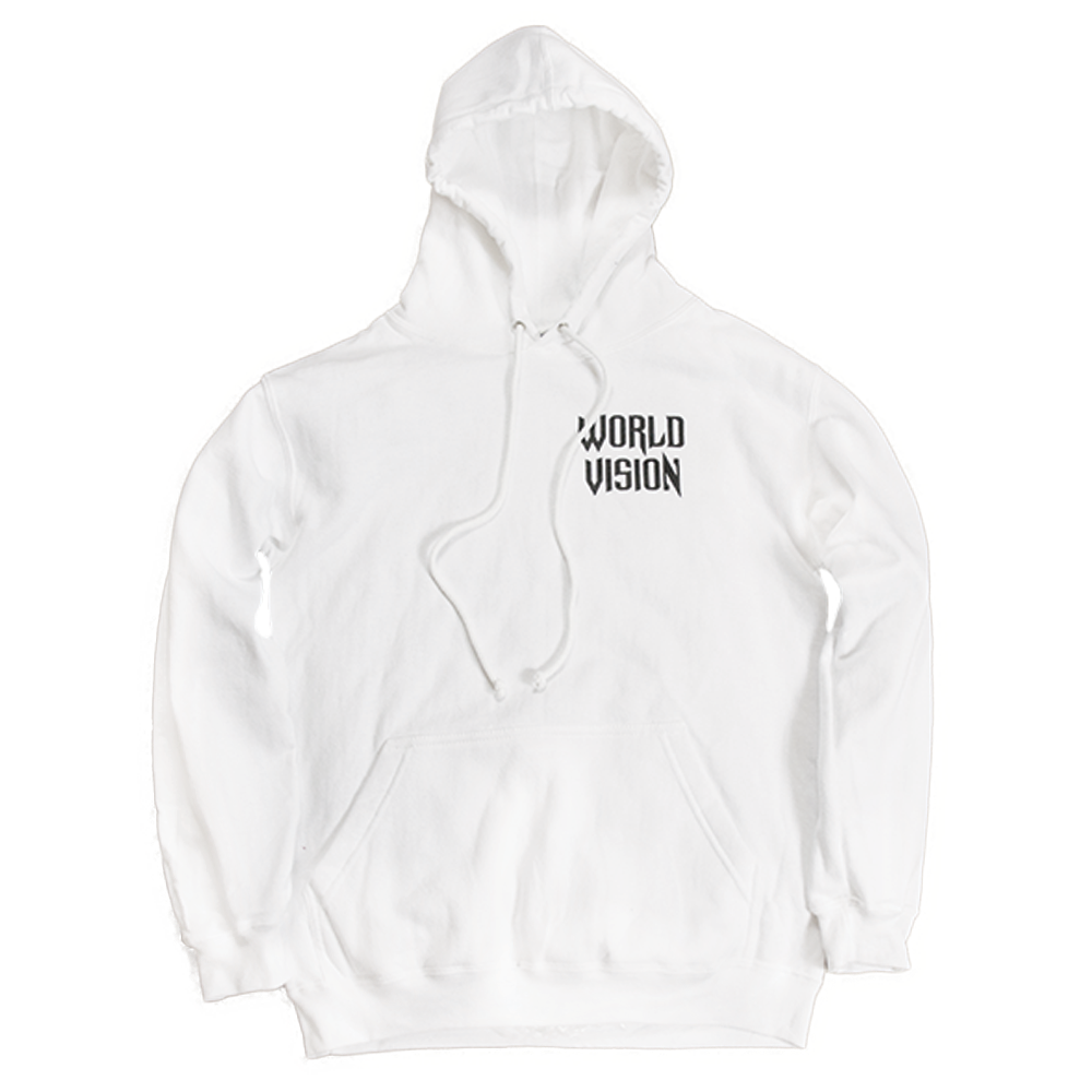 Image of OG 'World Vision' Hoodie Re-Release [White]