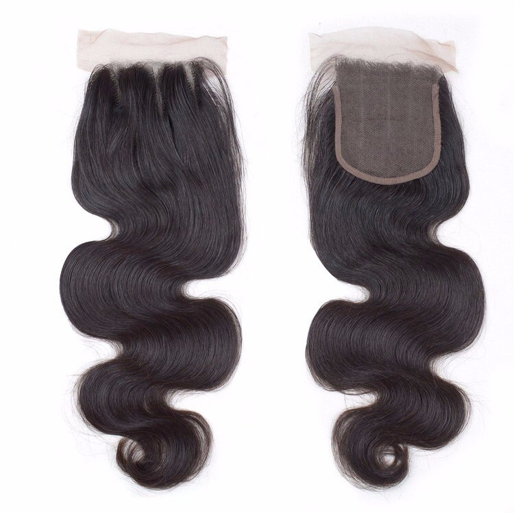 Image of 4 x 4 MINK SWISS LACE CLOSURE