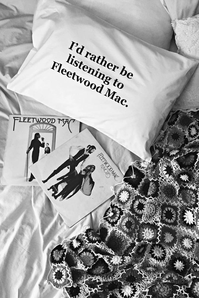 Image of Stevie Nicks Fleetwood Mac pillow case pair