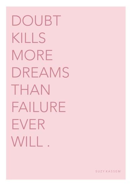 Image of Doubt Kills