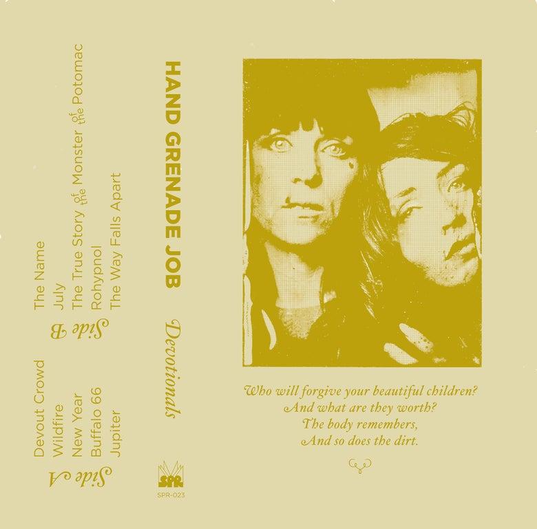 Image of Hand Grenade Job - Devotionals cassette (SPR-023)