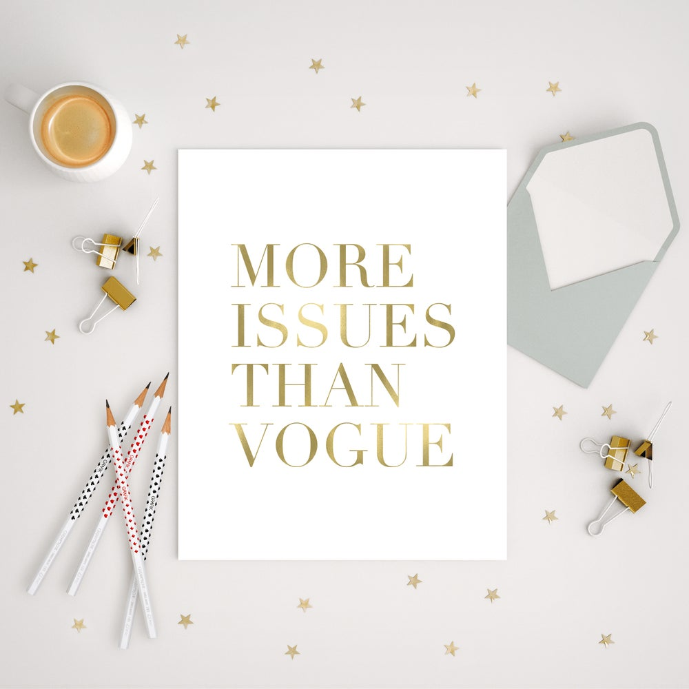 Image of DIGITAL DOWNLOAD More Issues Than Vogue