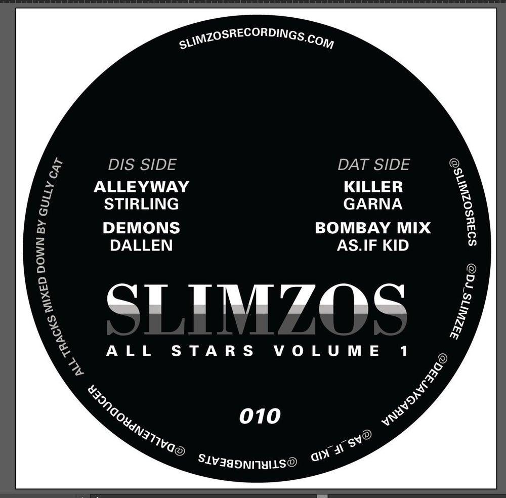"Image of Slimzos 010 -Slimzos allstars 4 track ep (12"")"