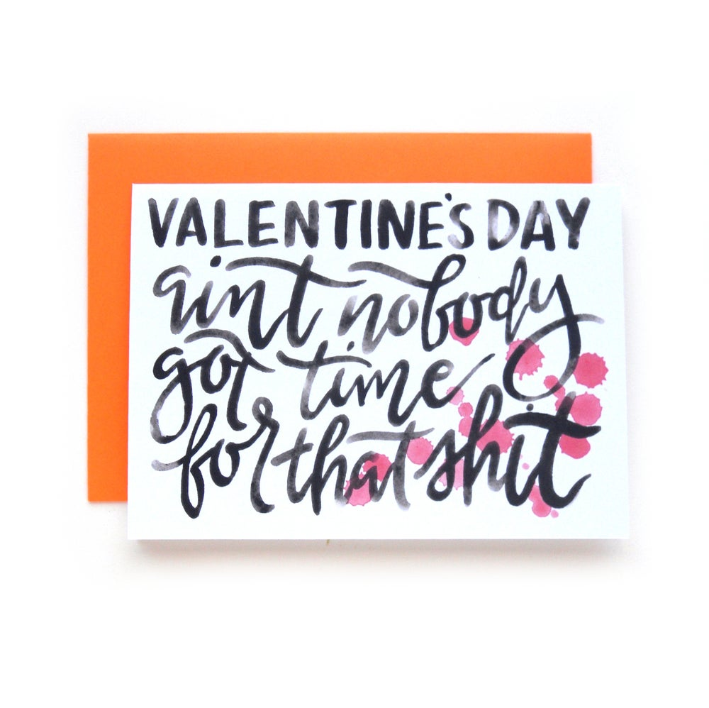 Image of Valentine's Day Shit Card