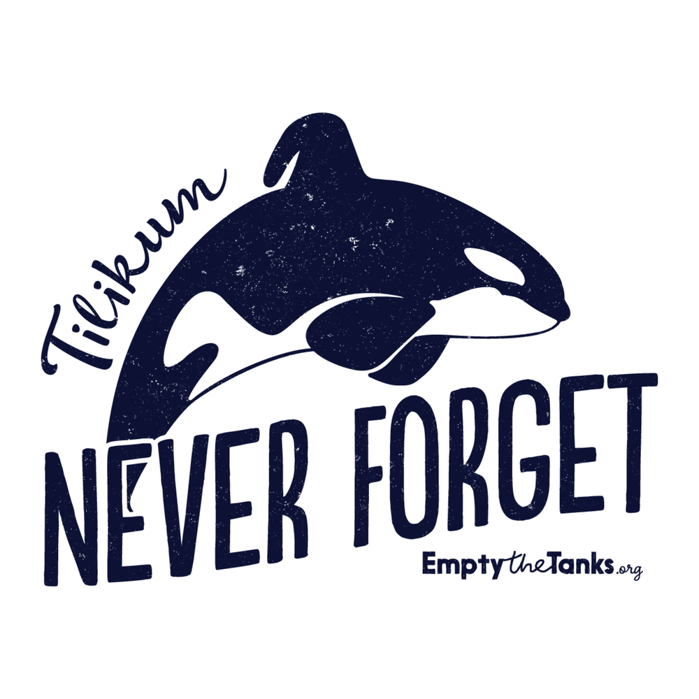 Image of Tilikum - Never Forget Sticker