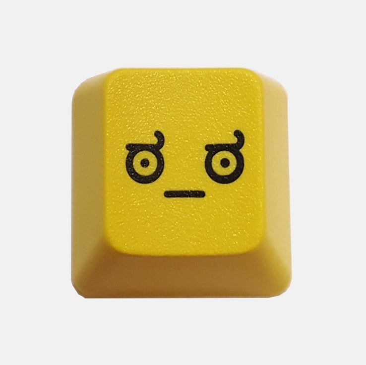 Image of Yellow LOD(Look of Disapproval) Keycap