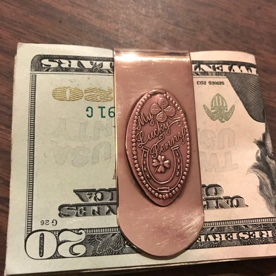 Image of My Lucky Penny Money Clip