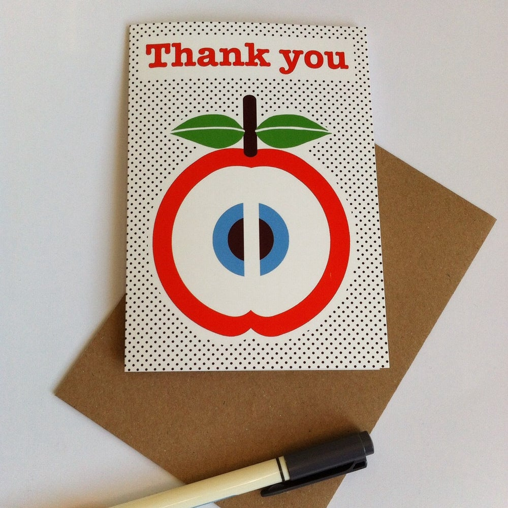 Image of A6 Thank you card