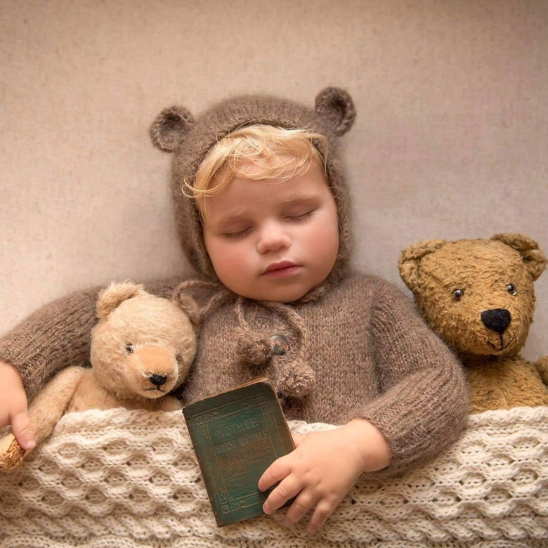 Image of Lochy Bear Onesie