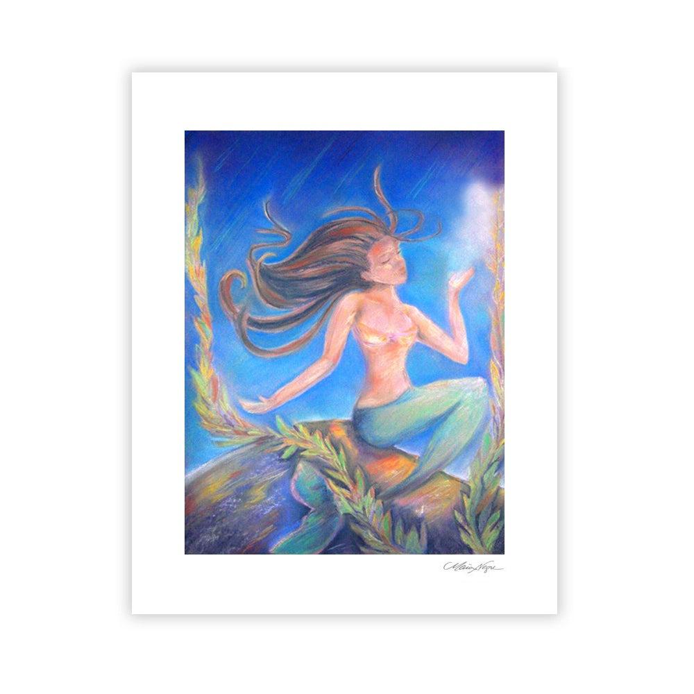Image of Mermaid 1 Archival Paper Print