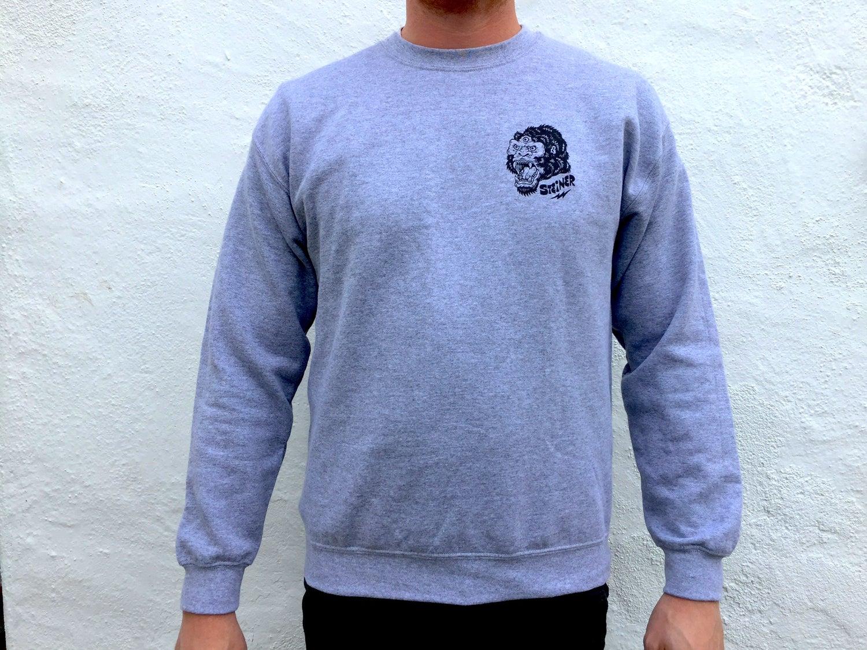 Image of Battle Royal crew neck sweatshirt grey