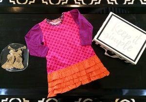 Image of Trisha Knit Dress Jelly the Pug