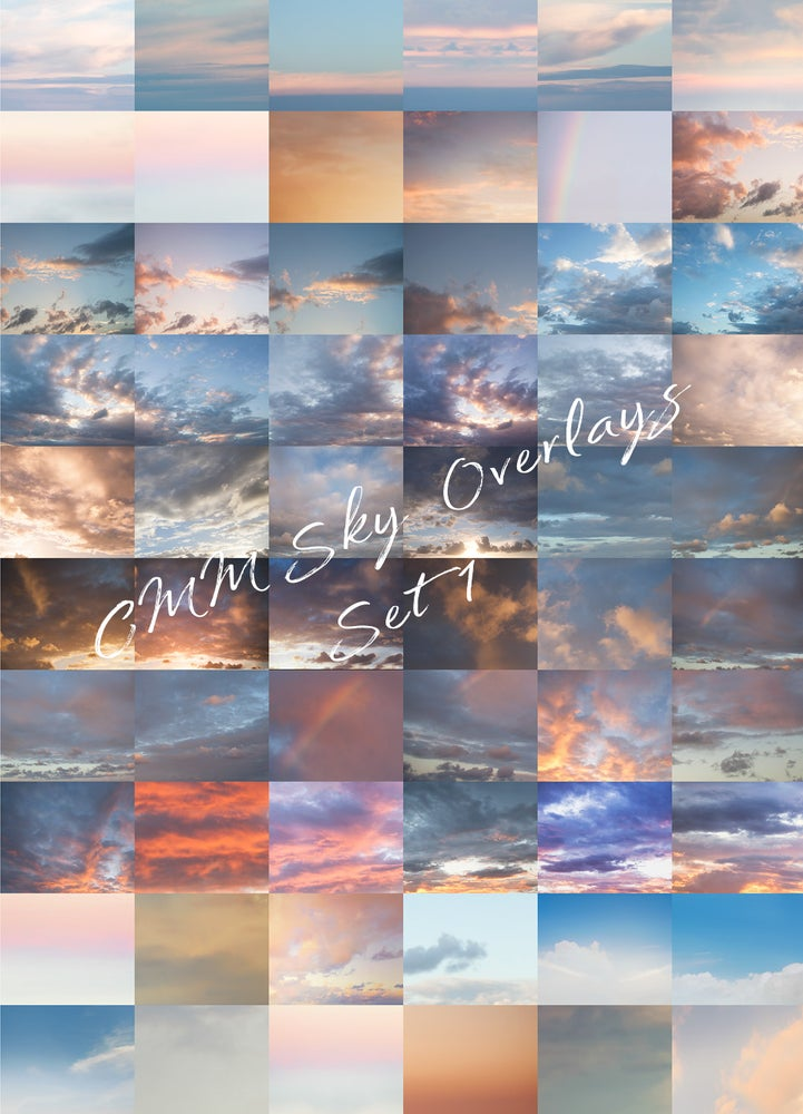 Image of CMM Sky Overlays Set 1 - 60 Skies