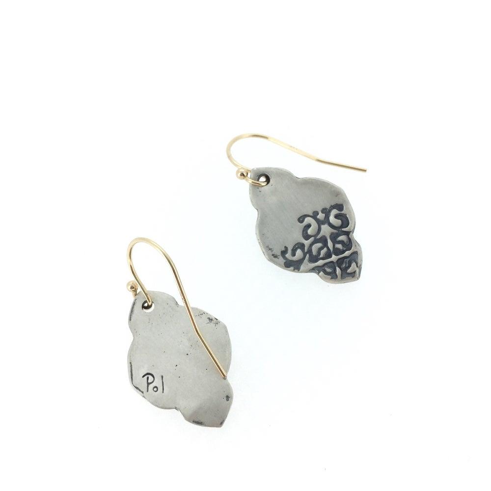 Image of boho dangle earrings