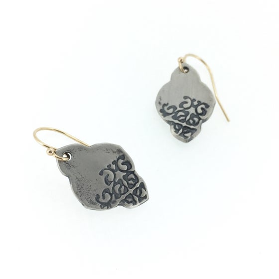 Image of boho dangle earrings