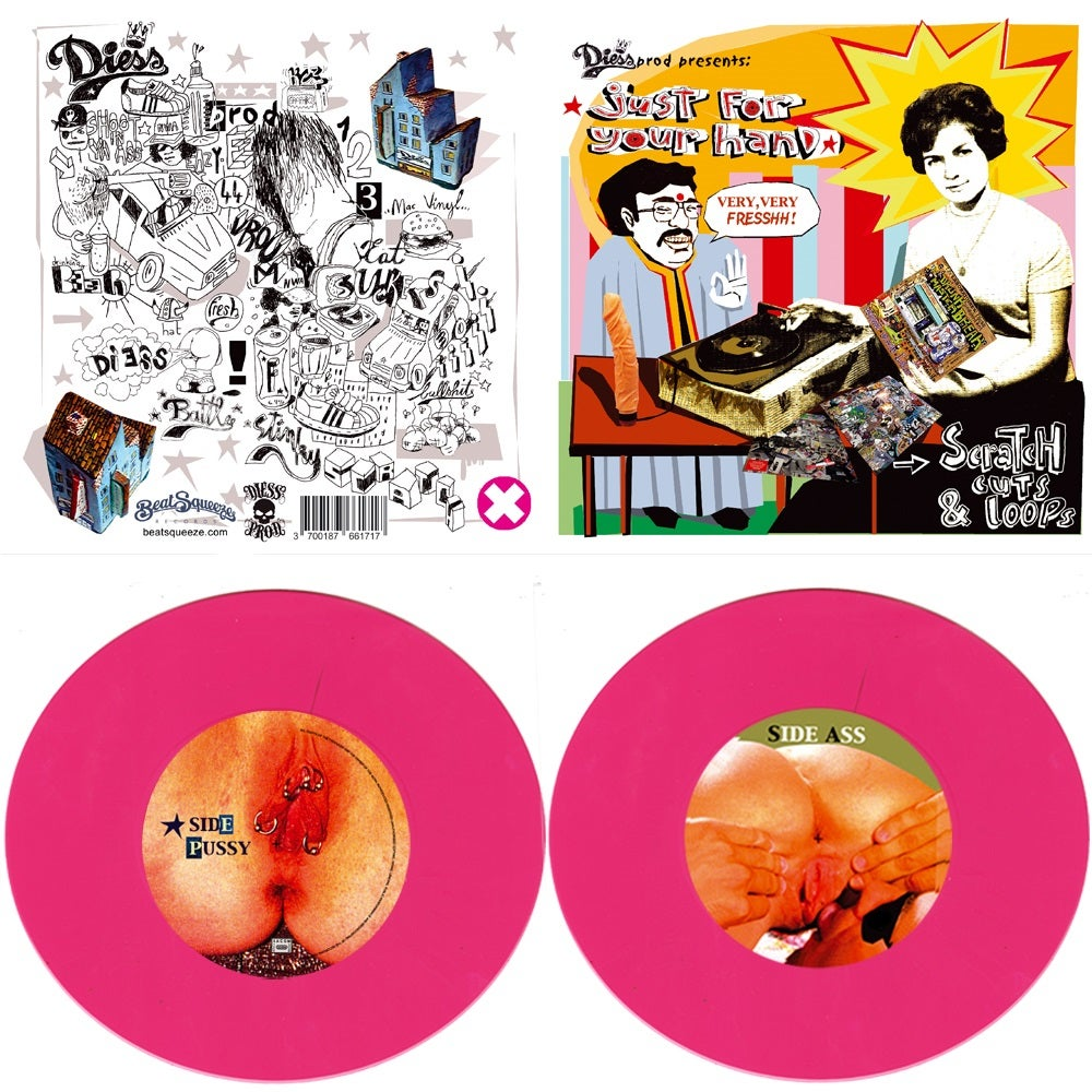 "Image of JUST FOR YOUR HAND - 7"" EDITION (PINK COLOR)"