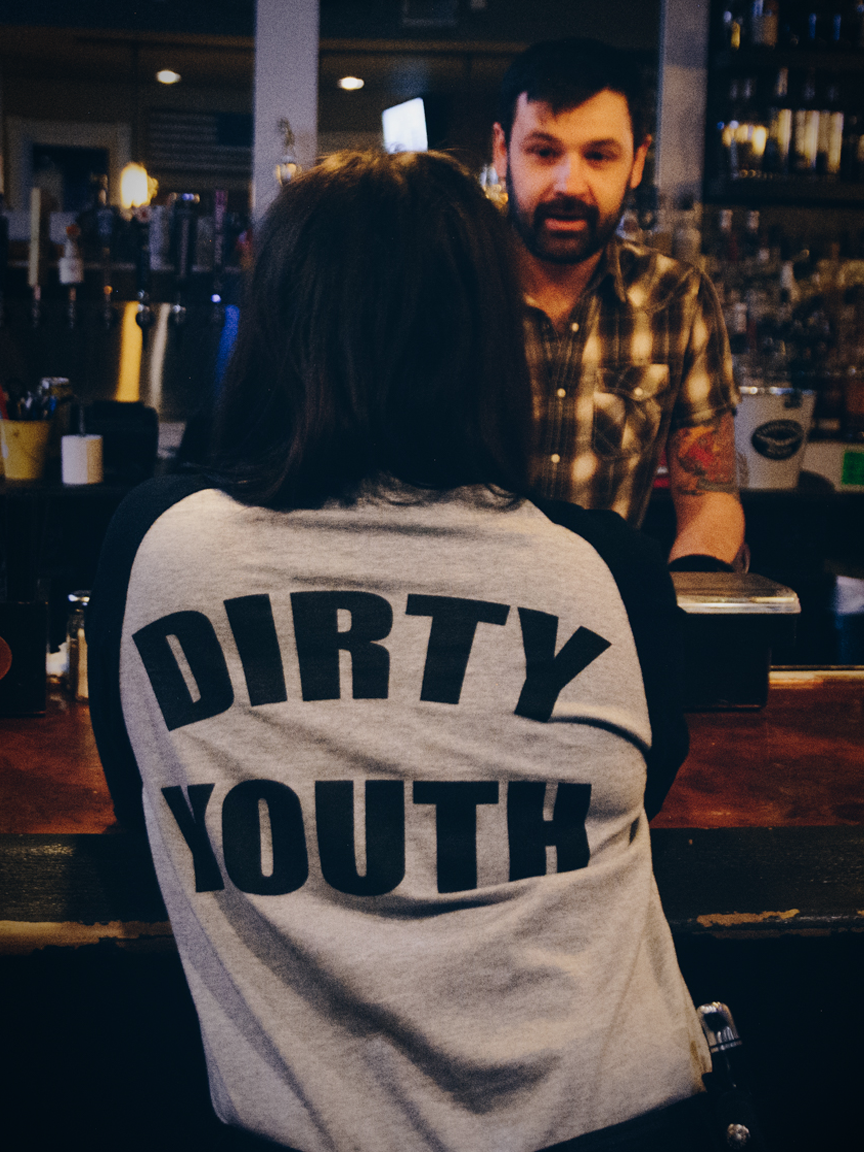 Image of Dirty Youth Baseball Tee