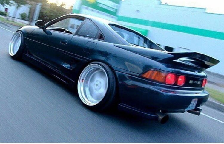 Auto Add Ons >> Camposites — 91-93 MR2 MK2 SW20 Carbon Fiber & FRP East Bear Rear Spoiler Add On Extension