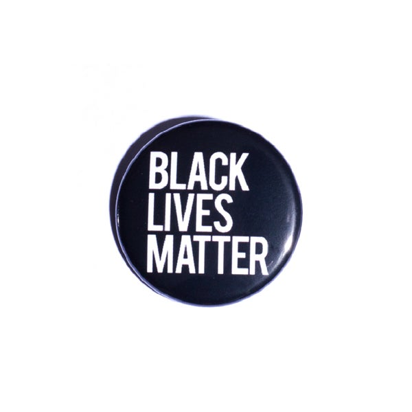 Image of Black Lives Matter Pin Back Button