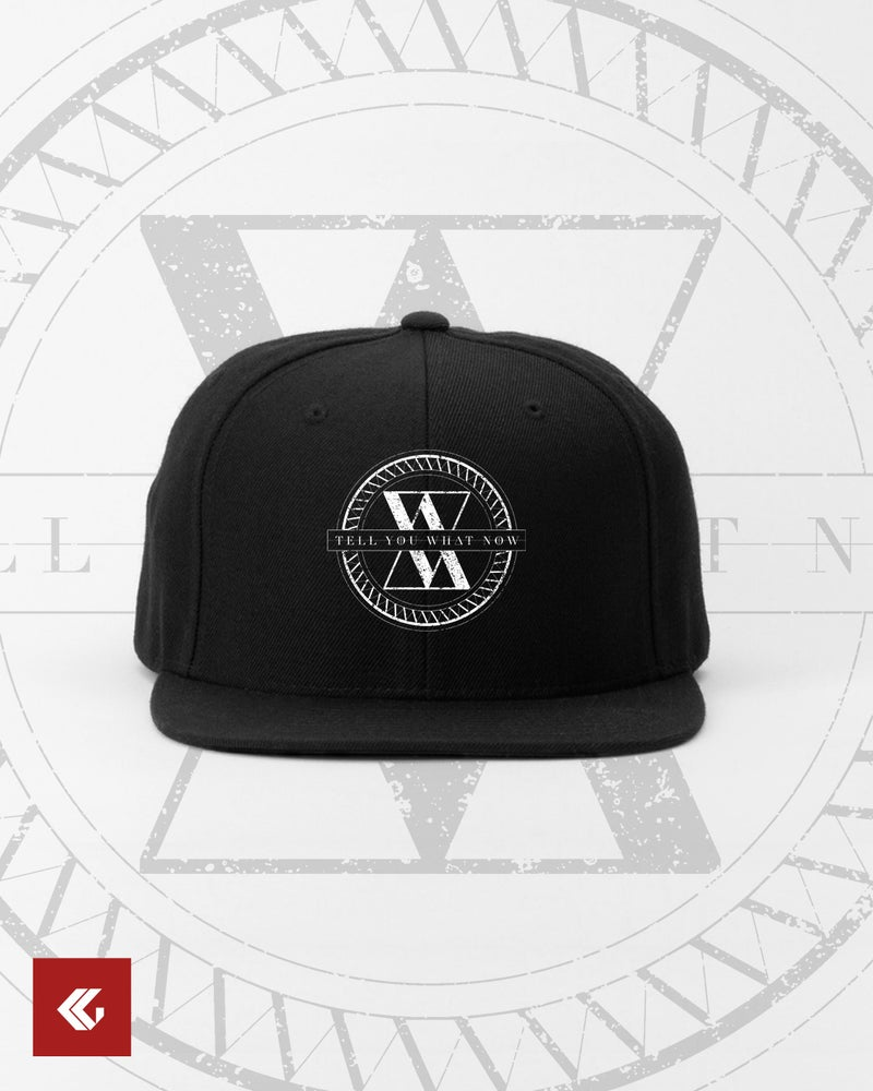 "Image of SNAPBACK CAP ""Failsafe : Entropy Logo"""