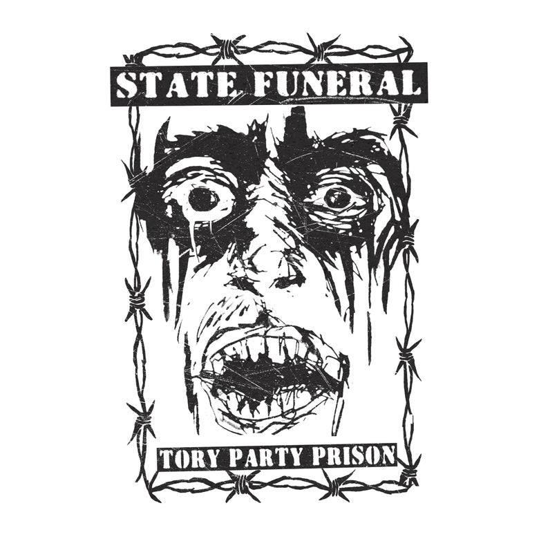 "Image of State Funeral - Tory Party Prison 7"" Flexi EP (Flexipunk7-02)"