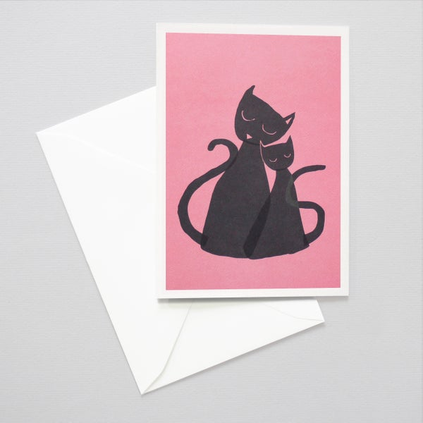 Image of cats mother's day card