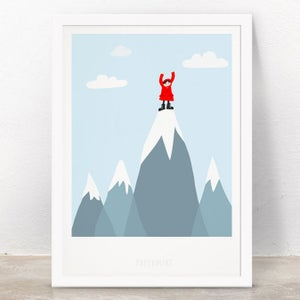 Image of Art Print - Peak / Affordable Art Prints / Archival Quality / Kids' room decoration
