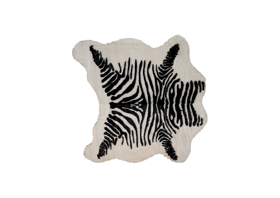 Image of Denton Zebra Black White