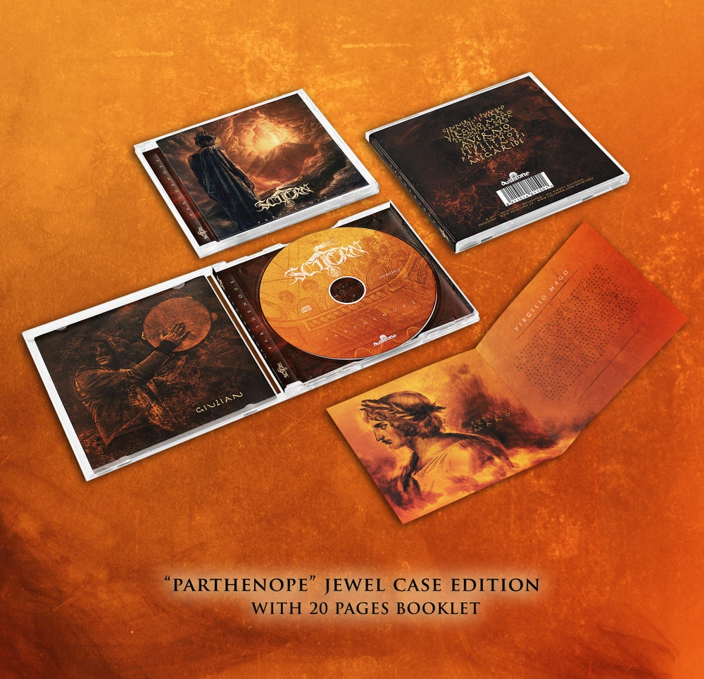 Image of PARTHENOPE JEWEL CASE CD EDITION