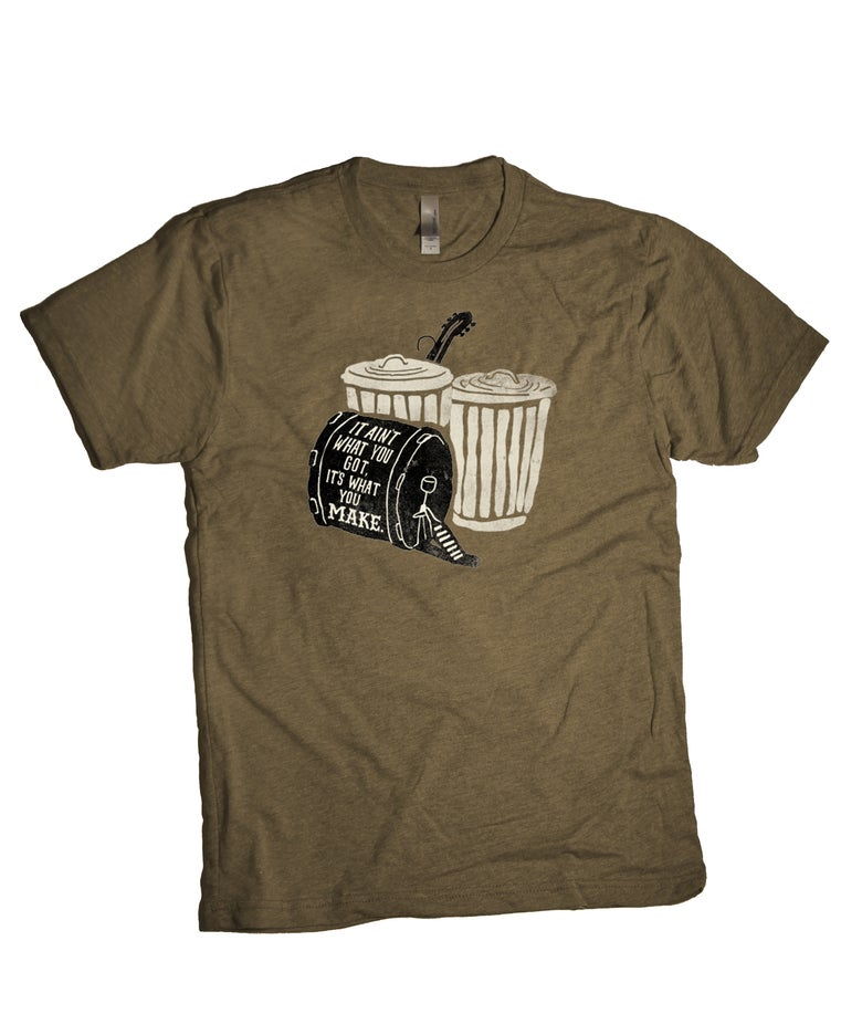 Image of Drum Shirt // Free Shipping