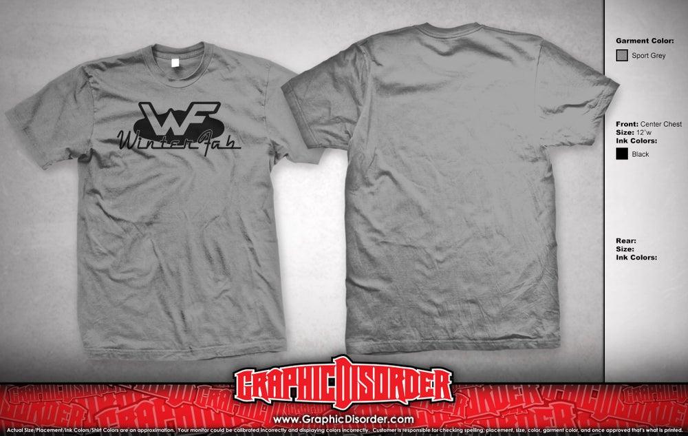 Image of WinterFab T-Shirt - Grey