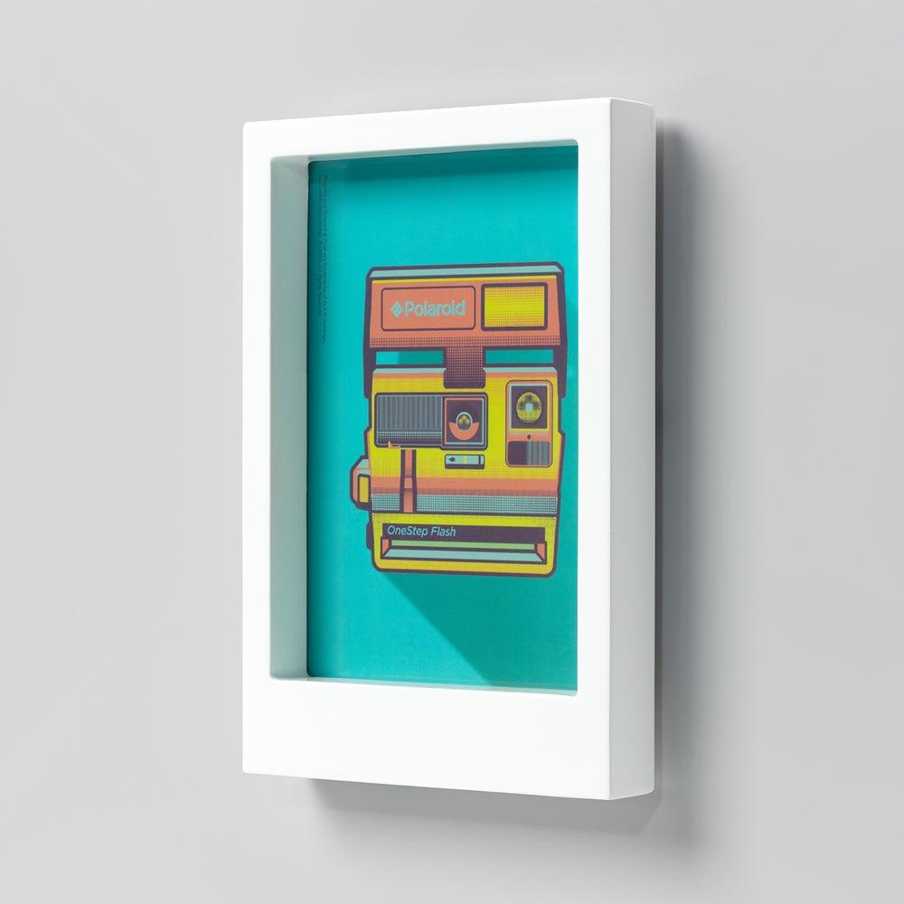Image of White Polaroid 5x7 Photo Frame
