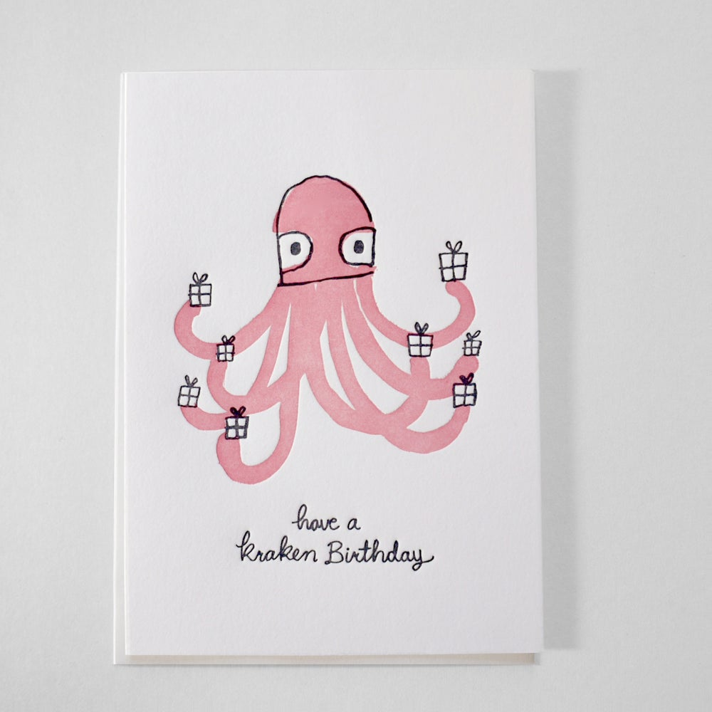 Image of Have a Kraken Birthday